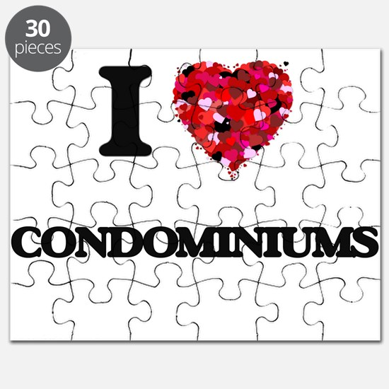 I love Condominiums Puzzle