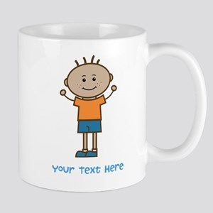 Stick Figure Boy Mug