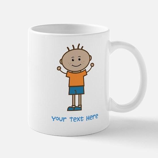 Stick Figure Boy Mug