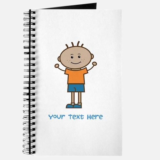 Stick Figure Boy Journal