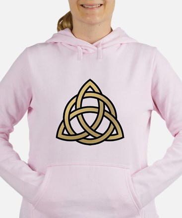 Triquetra, Charmed, Book Women's Hooded Sweatshirt