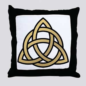 Triquetra, Charmed, Book of Shadows Throw Pillow