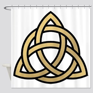 Triquetra, Charmed, Book of Shadows Shower Curtain