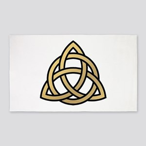 Triquetra, Charmed, Book of Shadows Area Rug