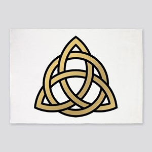 Triquetra, Charmed, Book of Shadows 5'x7'Area Rug