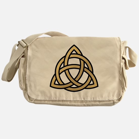 Triquetra, Charmed, Book of Shadows Messenger Bag