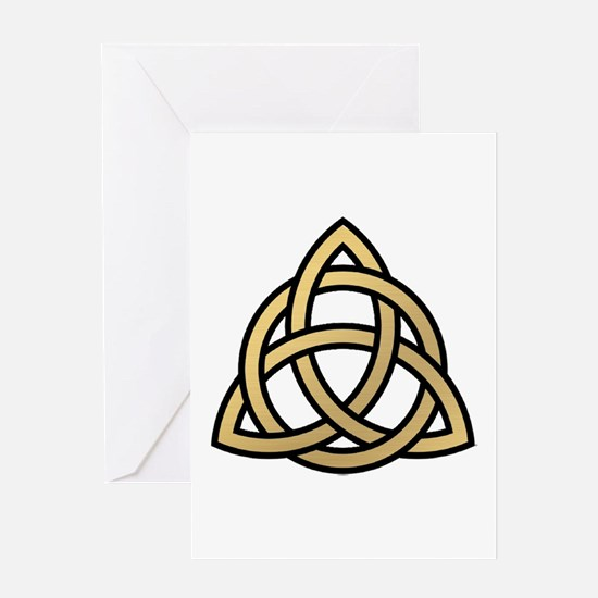 Triquetra, Charmed, Book of Shadows Greeting Card