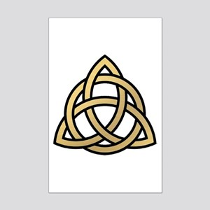 Triquetra, Charmed, Book of Shad Mini Poster Print