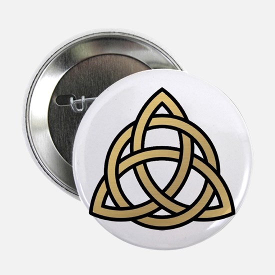 """Triquetra, Charmed, Book of Shadows 2.25"""" Button"""