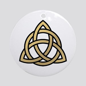 Triquetra, Charmed, Book of Shado Ornament (Round)