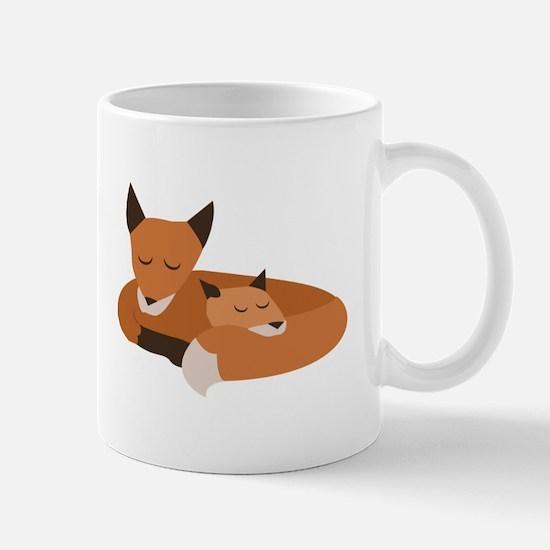 Fox Family Mugs