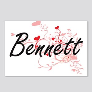 Bennett Artistic Design w Postcards (Package of 8)