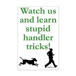 Stupid Handler Tricks Mini Poster Print