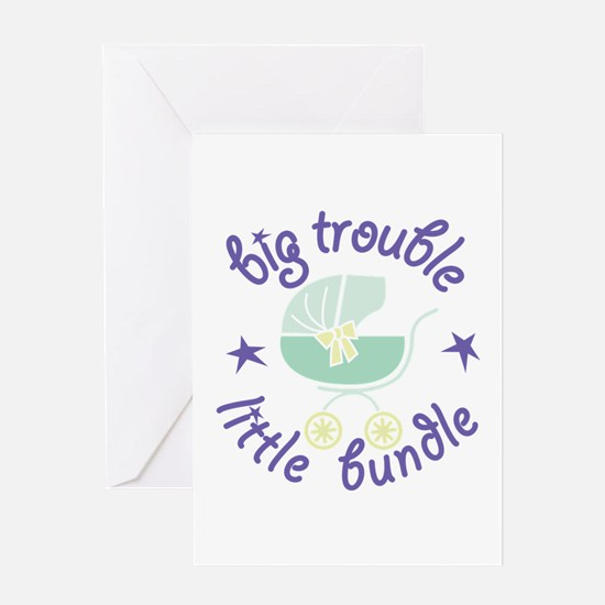 Little Bundle Greeting Cards