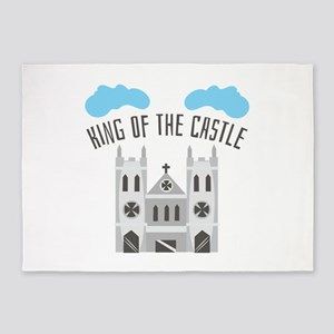 King Of Castle 5'x7'Area Rug