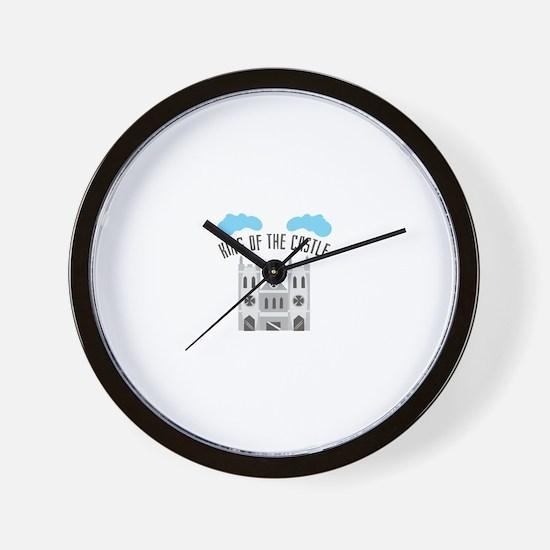 King Of Castle Wall Clock