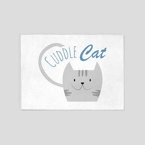 Cuddle Cat 5'x7'Area Rug