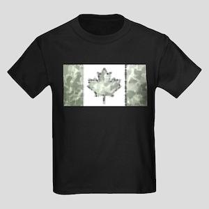 Canadian Flag Rocks & Mountain Camo Patter T-Shirt