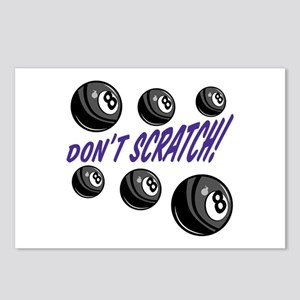 Dont Scratch Postcards (Package of 8)
