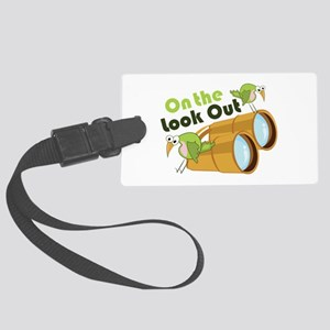 Look Out Luggage Tag
