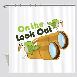 Look Out Shower Curtain