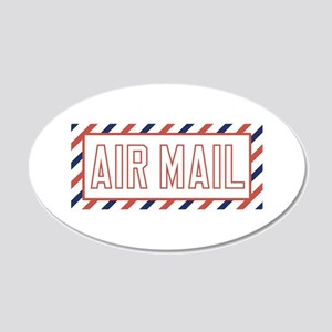 Air Mail Wall Decal