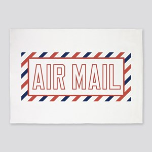 Air Mail 5'x7'Area Rug