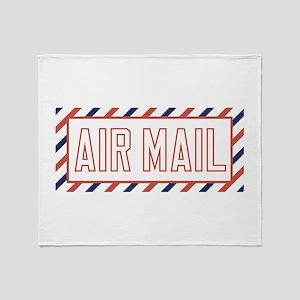 Air Mail Throw Blanket