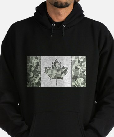 Canadian Flag Rocks & Mountain Camo Pat Sweatshirt