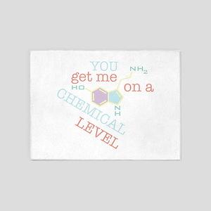 Chemical Level 5'x7'Area Rug