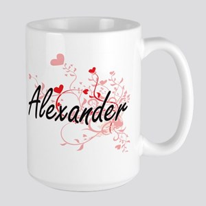 Alexander Artistic Design with Hearts Mugs