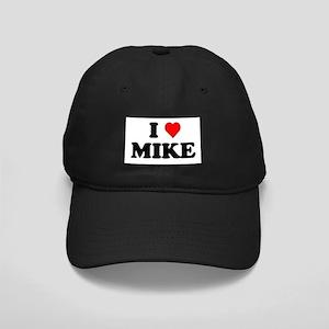 I Love Mike Black Cap
