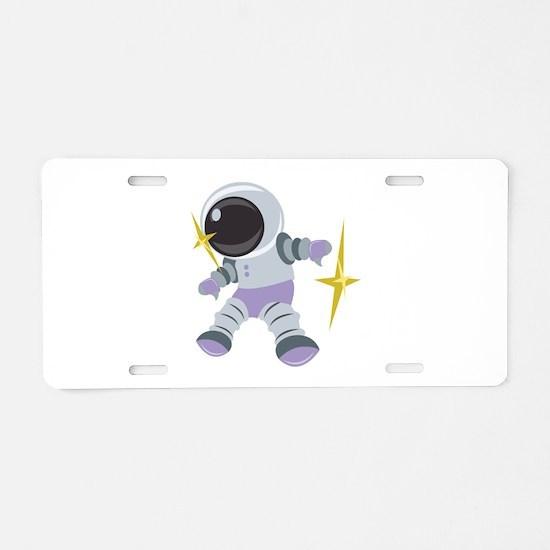 Future Astronaut Aluminum License Plate