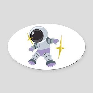 Future Astronaut Oval Car Magnet