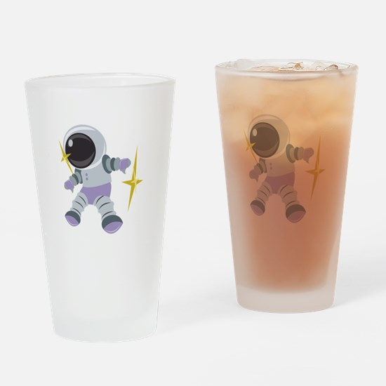 Future Astronaut Drinking Glass