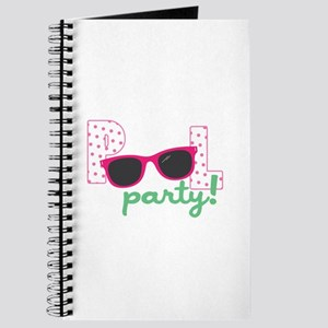 Pool Party Sunglasses Journal