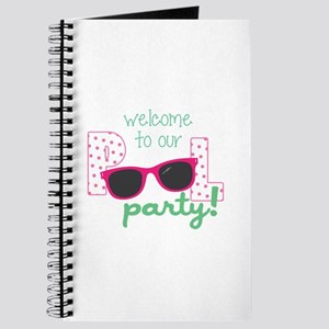 Welcome To Our Party! Journal