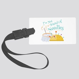 Scared Of Needles Luggage Tag
