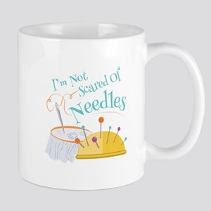 Scared Of Needles Mugs