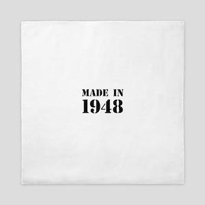 Made in 1948 Queen Duvet