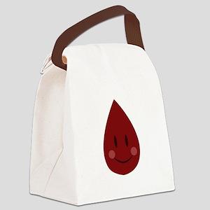 Blood Drop Canvas Lunch Bag