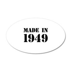 Made in 1949 Wall Sticker