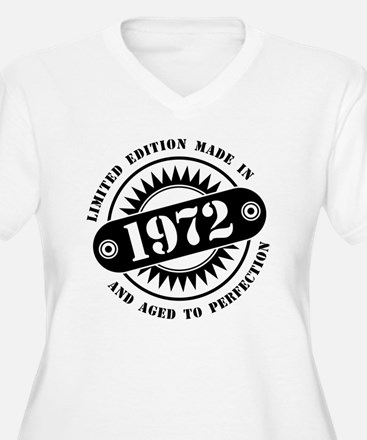 LIMITED EDITION MADE IN 1972 Plus Size T-Shirt
