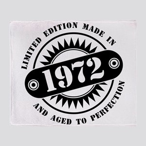 LIMITED EDITION MADE IN 1972 Throw Blanket