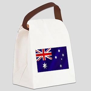 Flag of Australia Canvas Lunch Bag
