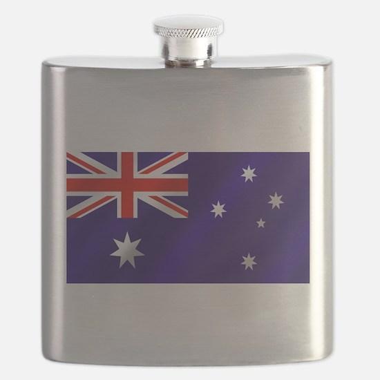 Flag of Australia Flask