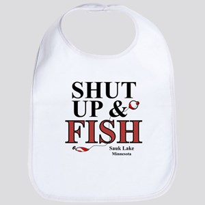 Sauk Lake Shut Up & Fish Bib
