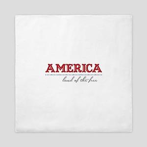 America Land Queen Duvet
