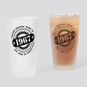 LIMITED EDITION MADE IN 1967 Drinking Glass