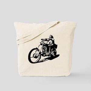 moto biker anarchy Tote Bag